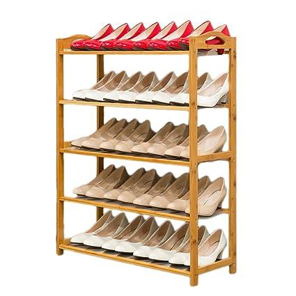 Estante Zapatos De Para Maciza Madera Zapatero Soporte bv7g6YIfy