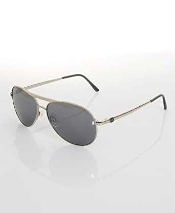 2ab9e67247 Von Zip Fernstein Sunglasses silver grey chrome onesize  Amazon.co.uk   Clothing