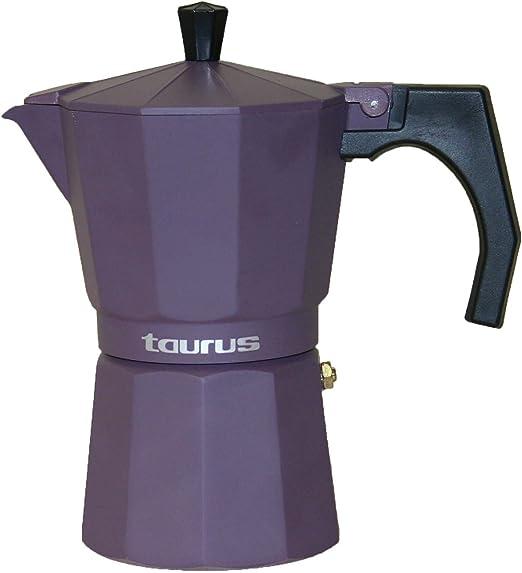 Taurus Cafetera de Vacío, Lila Oscuro, 9 Tazas: Amazon.es: Hogar