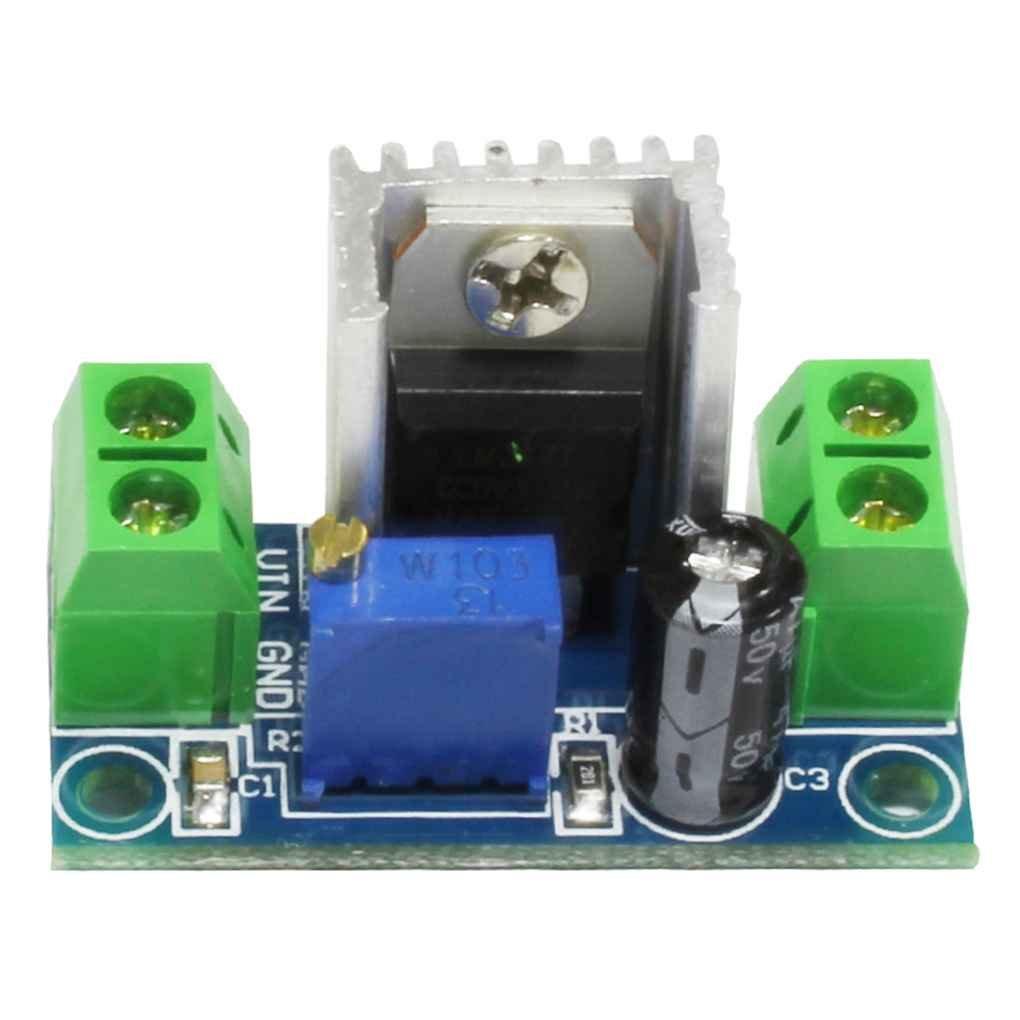 Uzinb Convertidor de Corriente Directa de Reducció n de Voltaje Regulador Bajada Placa de Circuito convertidor de 100MHz 1.2-37V