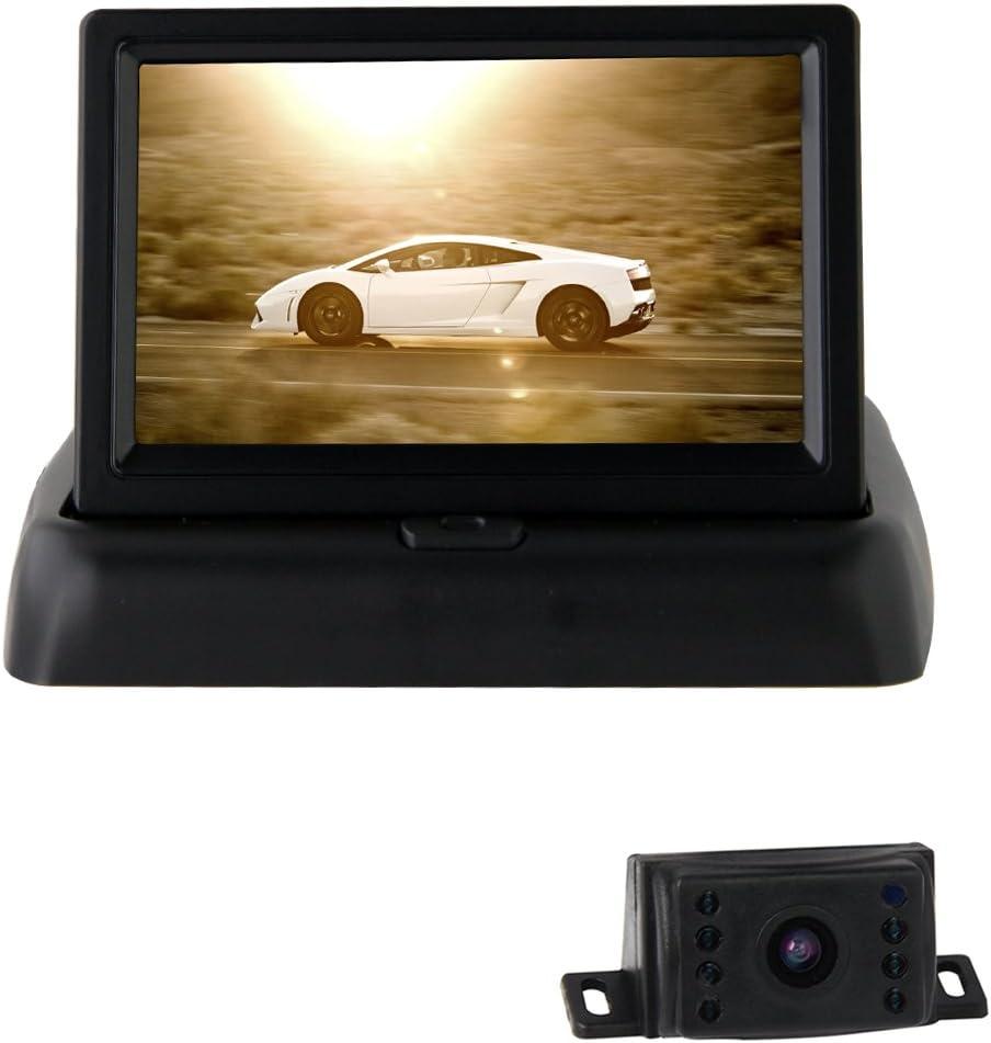 Pathson 4.3 Pouces TFT LCD Moniteur pour Cam/éra de Recul Vue Arri/ère