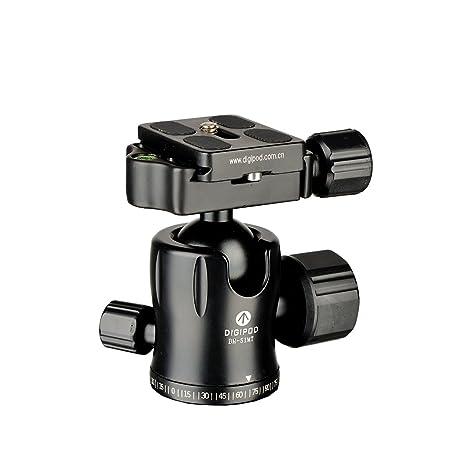 digipod profesional aleación de magnesio trípode de cámara Monopod Ball Head bh-51mt
