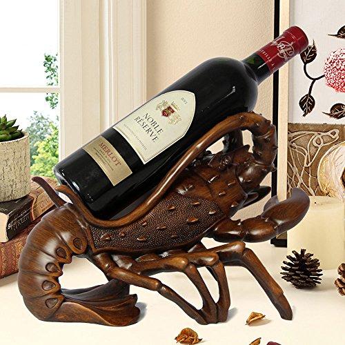 Homard forme vin titulaire Organisateur Décoration d/'intérieur