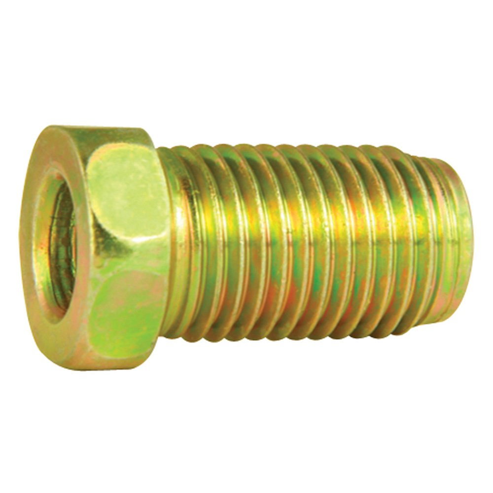 Steel Tube Nuts - 3/16' Line - SAE 3/8' X 24 thread - Bubble Flare - Pack of 10 4LifetimeLinesTM
