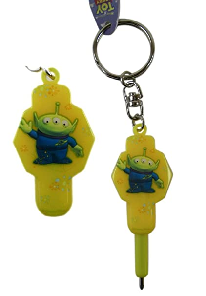 Amazon.com: Disney Toy Story Amarillo y Verde Alien Llavero ...