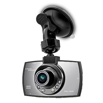 Cámara para coche de kwmobile Full HD Dash Cam Blackbox 1080p cámara para coche con sensor