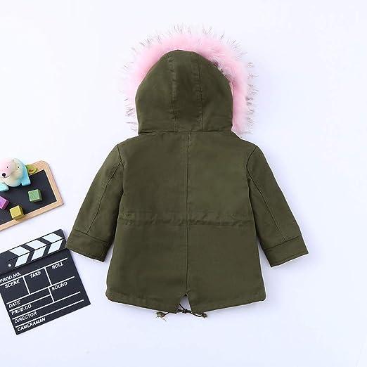 Amazon.com: Moonper Children Cotton Jacket Baby Girls Fashion Winter Thick Warm Wear Hooded Zipper Coat: Clothing