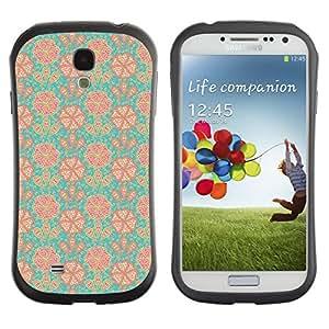 ArtSpace Premium Hybrid Back Case Cover Samsung Galaxy S4 IV i9500 ( Cute Flowers )