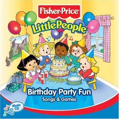 Little People: Birthday Party Fun Song & Games Birthday Party Songs Cd