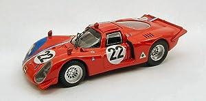 BEST BT9419 ALFA ROMEO 33.2 N.22 PARIGI 1968 1:43 MODELLINO DIE CAST MODEL