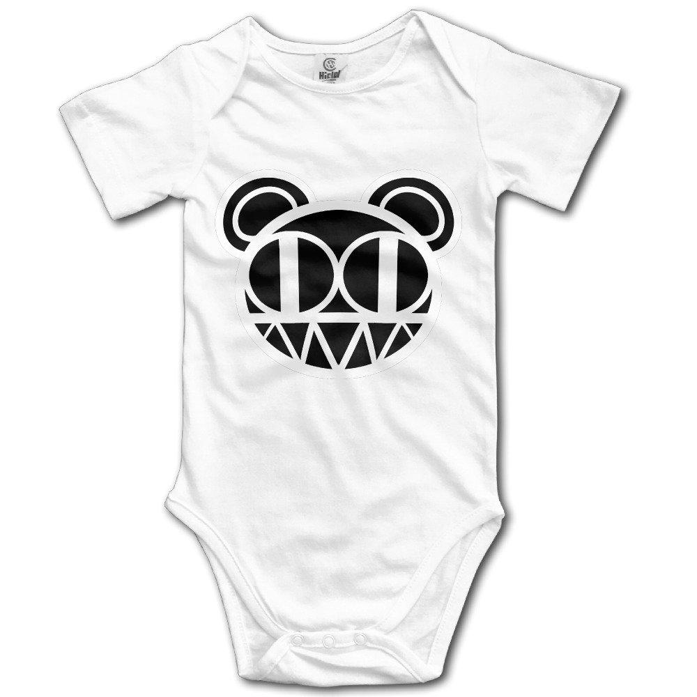 Wuliwuli Radiohead Rock and Roll Rock Band Baby Onesie Baby Bodysuit