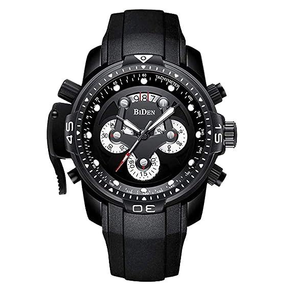 Chenqi Reloj para Hombres Multifunción Waterproof Quartz Business Sports: Amazon.es: Relojes