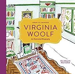Image result for virginia woolf illustrated bio