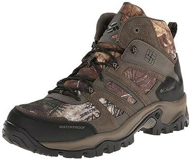 Columbia Woodburn Mid WP Camo Men's Boot ...