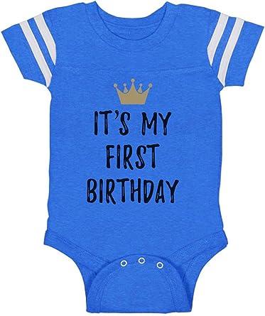 Tstars First Birthday Gift Boy//Girl 1st Bday One Year Old Baby Bodysuit