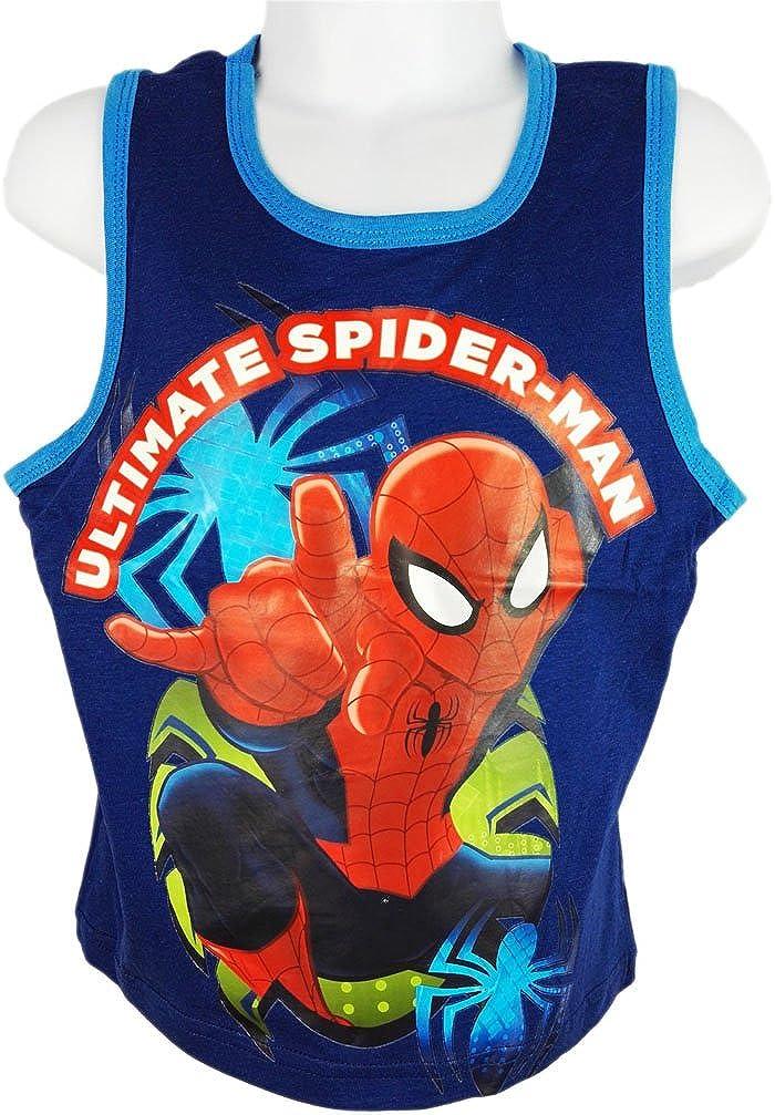 Marvel Spiderman Boys Vest Top
