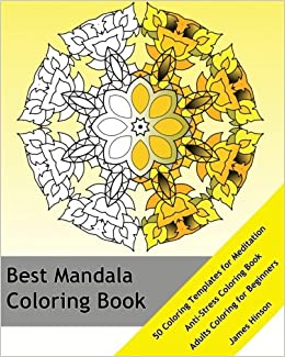 Amazon Com Best Mandala Coloring Book 50 Coloring Templates For