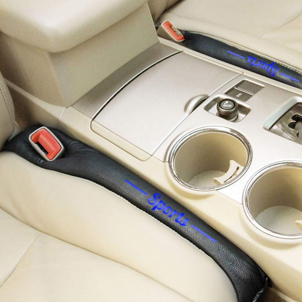 Maiqiken AntiDrop Autositz L/ückenf/üller 2 St/ück 48cm Sitzl/ückenf/üller Sitz Stopper f/ür A3 S3 A4 S4 A6