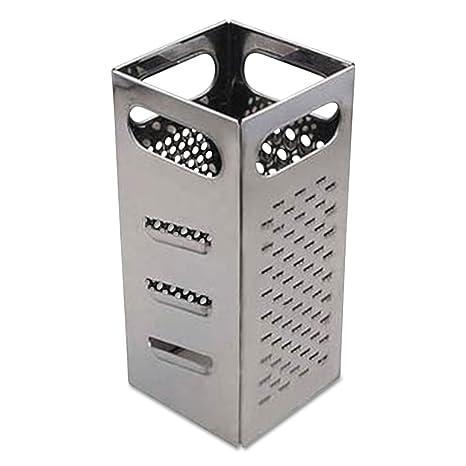 Amazon.com: adcbxgr4 rallador, 4 lados, acero inoxidable ...