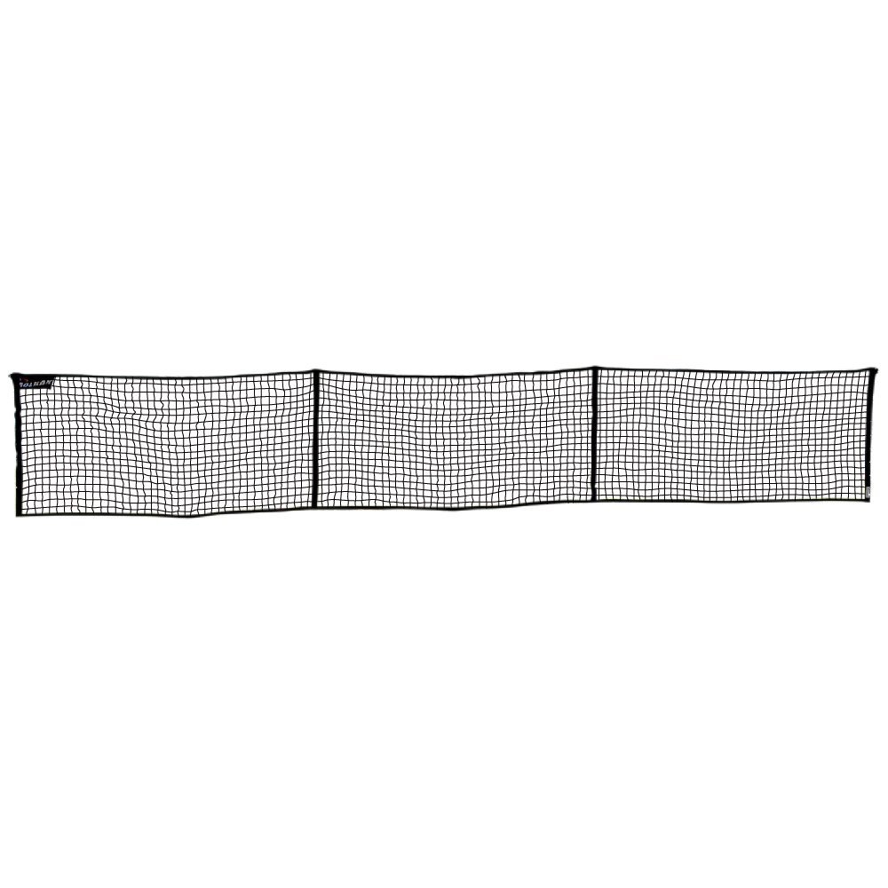 Rolbak 30 Feet Guard Net Set with Pegs, Ground Anchors, Steel Posts and Carry-All Bag