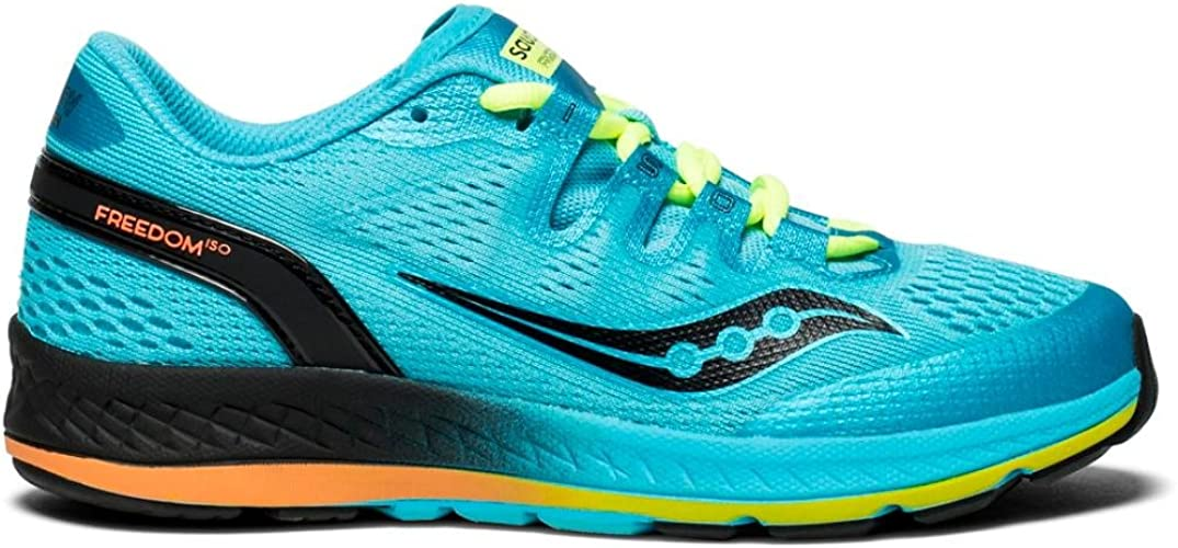 Buy Saucony Men's Freedom Iso Running Shoes, Blue, 10 M US