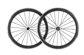 Superteam 50 mm Aluminio llanta Bicicleta Rueda 700 C Clincher ...