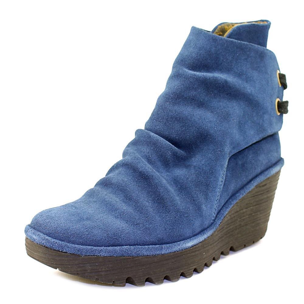 FLY London Women's Yama Ankle Boot B01HHI2Q40 40 M EU / 9-9.5 B(M) US|Blue