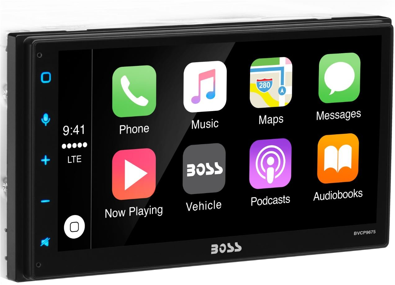 Boss Audio Systems BVCP9675 Double DIN