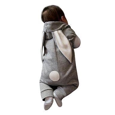 9eb1fd537363 VENMO Cute Infant Baby Sleeveless Animals Romper Playsuit Rabbit ...
