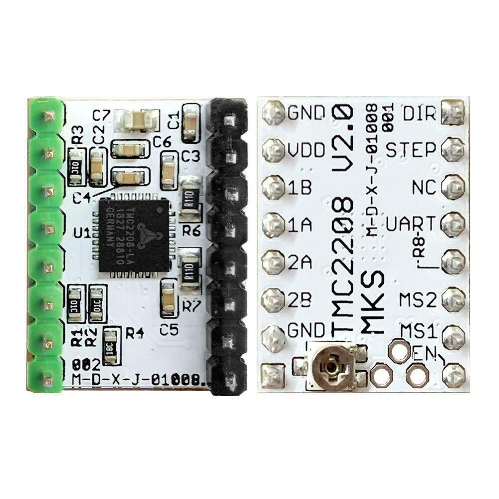Board+TMC2209 V1.05 BZ 3D Controller Board MKS SGen L V1.0 32-bit Motherboard Compatible Uart//SPI Open Source Marlin2.0//Smoothieware with MKS TMC2208//2209 Steep Motor Driver for 3D Printer Parts