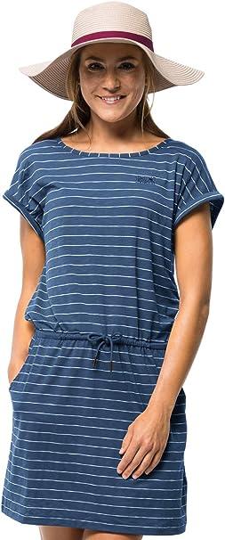 Jack Wolfskin Damen Travel Striped Kleid: : Bekleidung