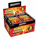 Grabber Outdoors 7 Hour Hand Warmers - 1 Box of 40 Pair
