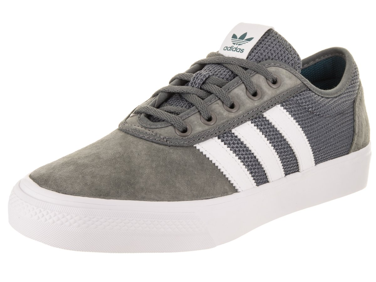 Adidas Men's Adi-Ease Lace up Sneaker B0734GPSMJ 13 M US|Grey 4/Footwear White/Real Teal