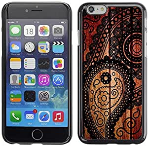 Graphic4You Vintage Retro Art Texture Pattern Design Hard Case Cover for Apple iPhone 6 Plus