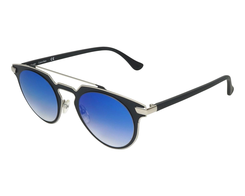 Calvin Klein Metal Frame Blue Lens Ladies Sunglasses ...
