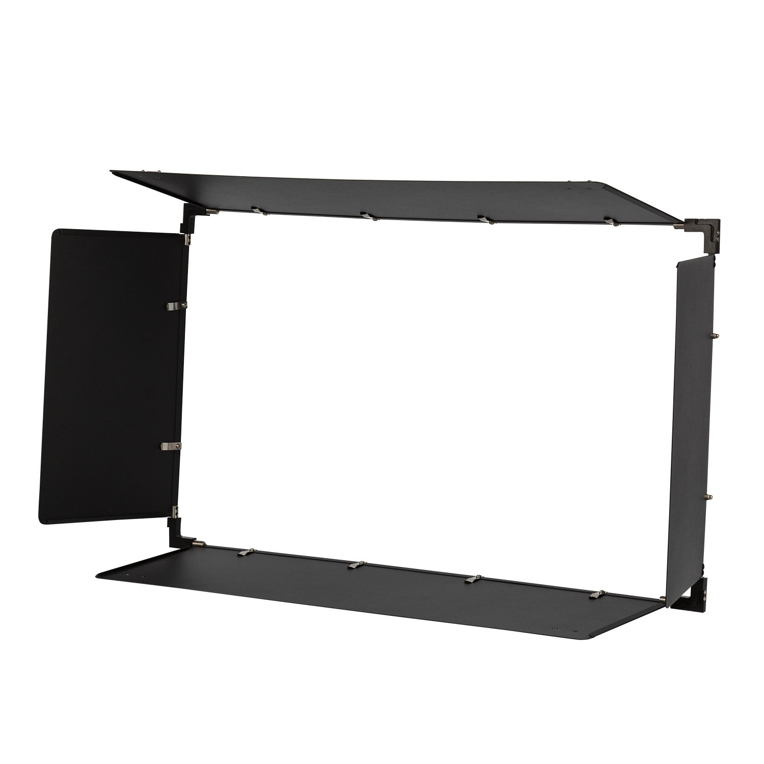Ikan LBD20 Barn Doors for 1 x 2 Studio Soft Light, Black by Ikan