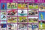 Deportes Y Aire Libre Best Deals - 25 X Preescolar Niños Deportes al aire libre Aprendizaje Educativo Pictórica Papel Etiqueta