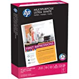 HP Printer Paper, Multipurpose Ultra White, 20lb, 11 x 17, Ledger, 96 Bright - 500 Sheets / 1 Ream (172001R) Made In The USA