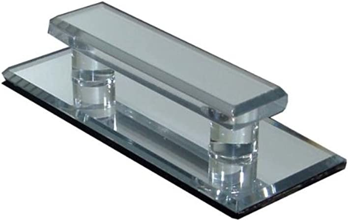 Clear Acrylic Beveled Large Stick-On Mirror Pull