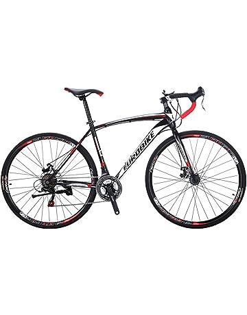 d79727f9c7f Eurobike Bikes EURXC550 21 Speed Road Bike 700C Wheels Road Bicycle Dual  Disc Brake Bicycles