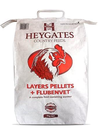 Flubenvet Layers Pellets (5kg): Amazon.co.uk: Pet Supplies