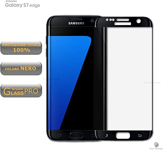 Protector Cristal Templado Color Negro Black para Samsung Galaxy ...