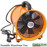 Portable Système la poussière Extracteur Ventilation Air Ventilateur Souffleur Commercial Atelier en métal Axial Ventilateur (30,5cm pouces)