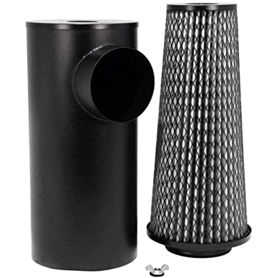 K&N Engine Air Filter: High Performance, Premium, Washable, Industrial Replacement Filter, Heavy Duty: 38-2001R: Automotive