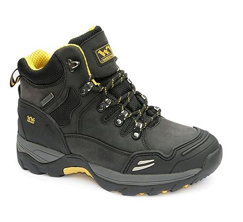 Amblers Steel - Calzado de protección para hombre negro negro, color gris, talla 6 UK