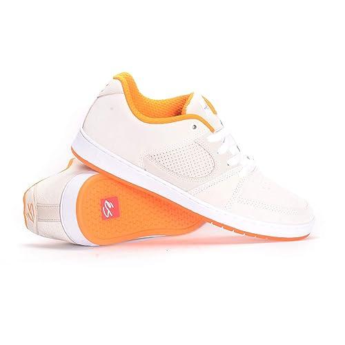 d328f71e8a ES Accel Slim X The Nine Club Skate Shoes - White  Amazon.co.uk  Shoes    Bags