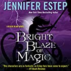Bright Blaze of Magic Audiobook by Jennifer Estep Narrated by Brittany Pressley