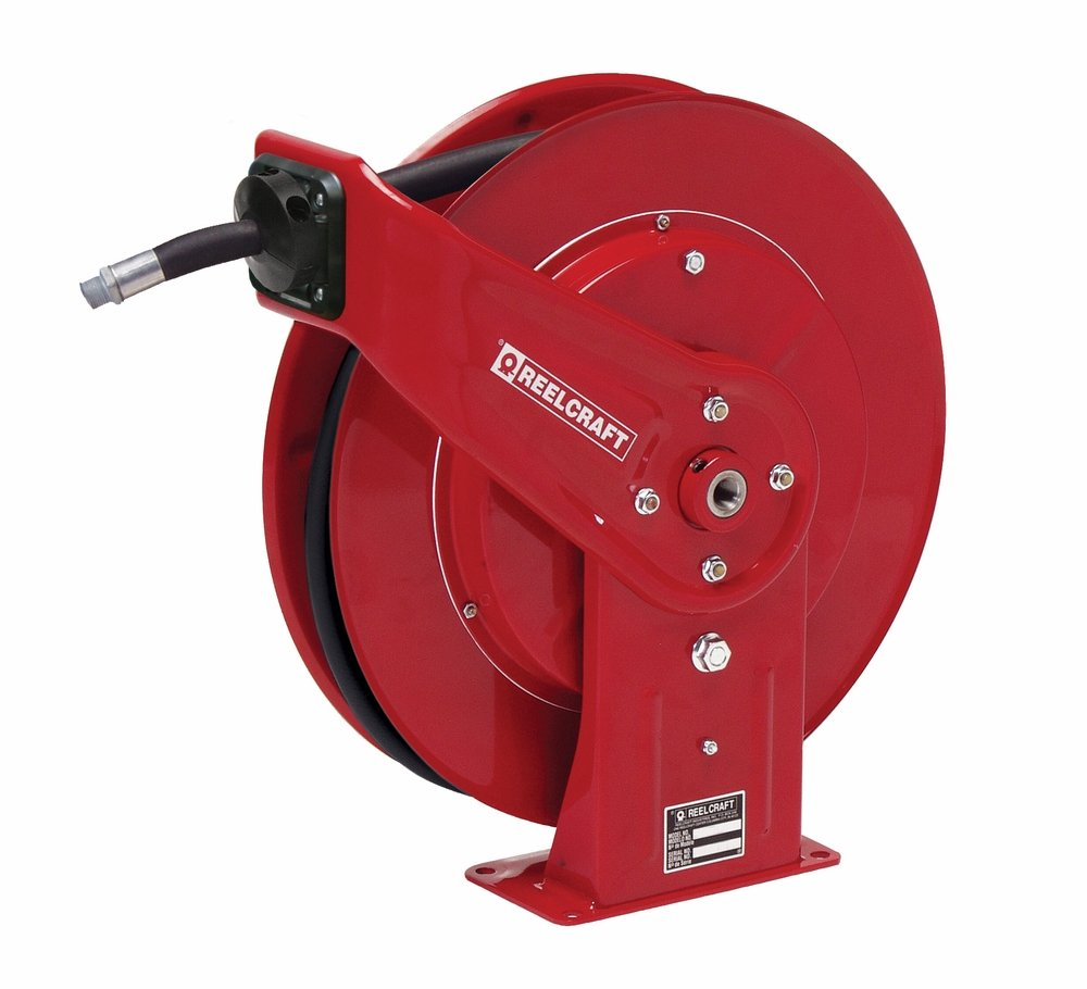 x 1//2 BSPP Hose Included 300 Psi 1//2 BSPP Reelcraft UR7850 OLB70 Spring Retractable DEF Hose Reel F 1//2 x 50 F