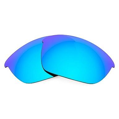 8db52da65b Lentes de Repuesto Polarizadas Revant para Oakley Half Jacket 2.0 Azul  Hielo MirrorShield®: Amazon.es: Deportes y aire libre