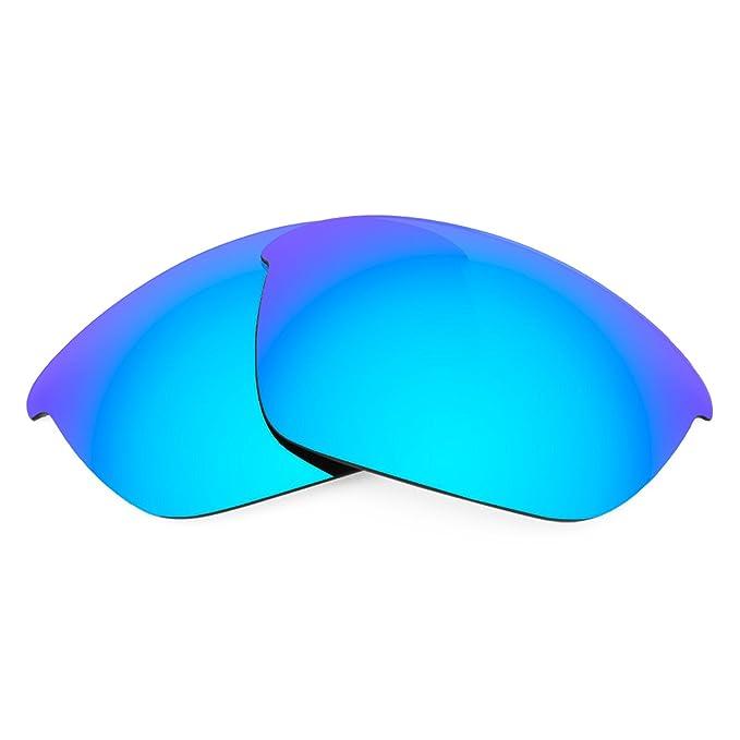 Revant Lentes polarizados para Oakley Half Jacket 2.0 (Azul Hielo) MirrorShield®: Amazon.es: Ropa y accesorios